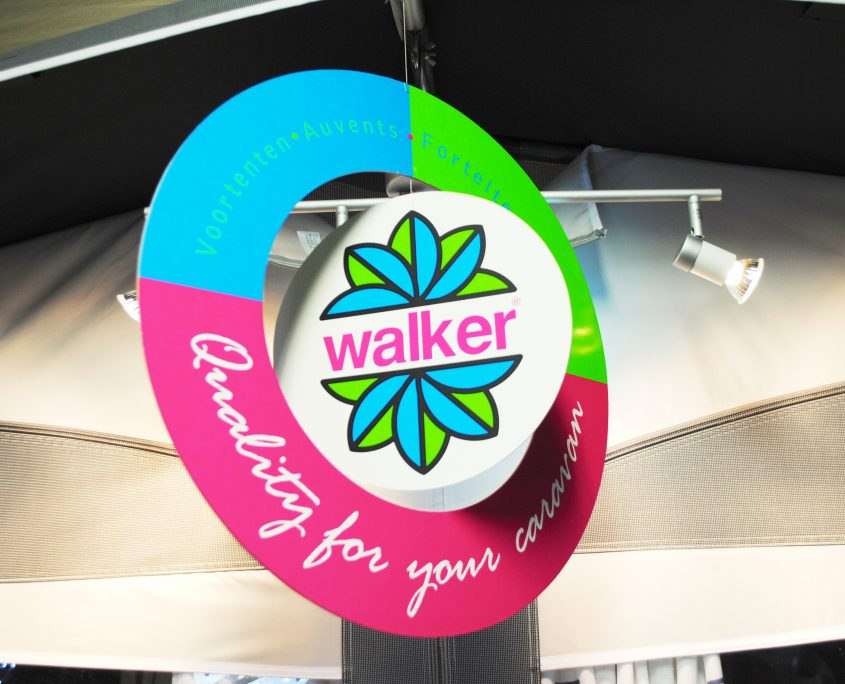 Walker voortenten showroom