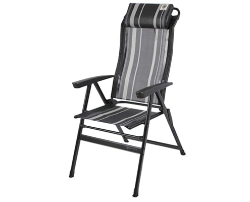 Walker Easy-Chair Kapas-Black
